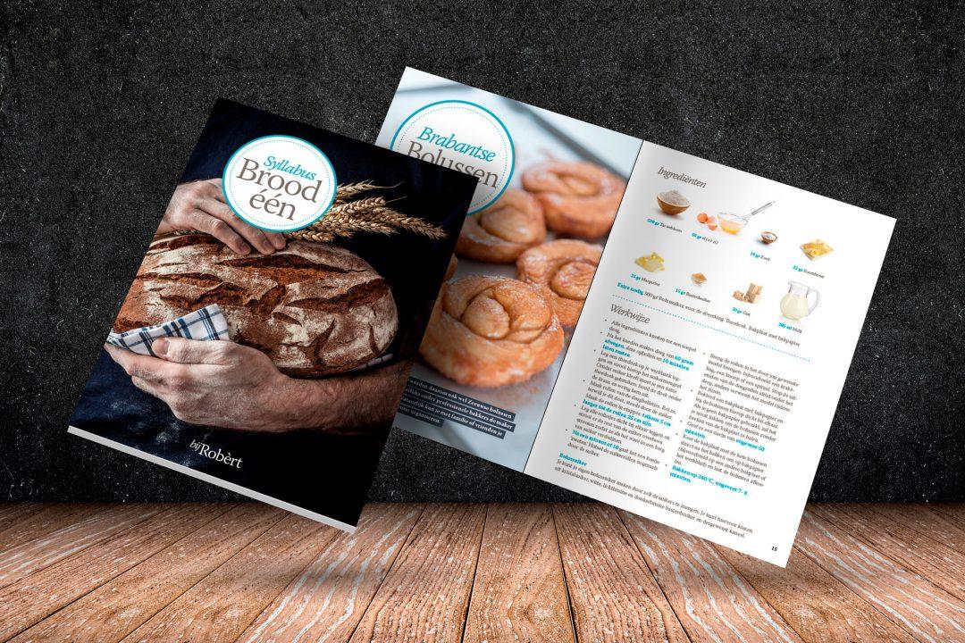 Vormgeving Syllabi Brood één voor Robèrt van Beckhoven