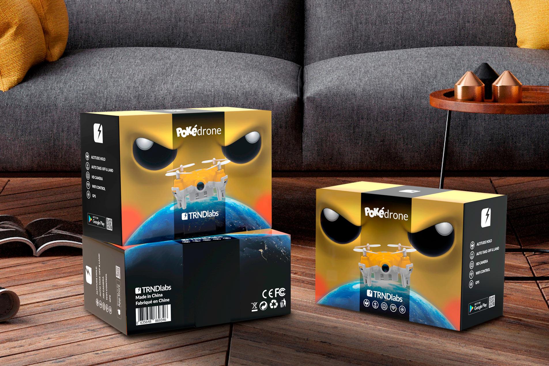 TRNDlabs Pokédrone verpakking