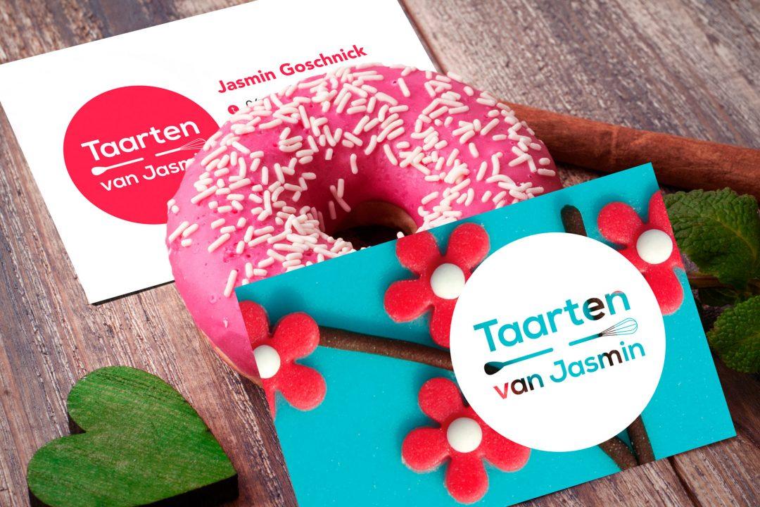 Logo & huisstijl Taarten van Jasmin