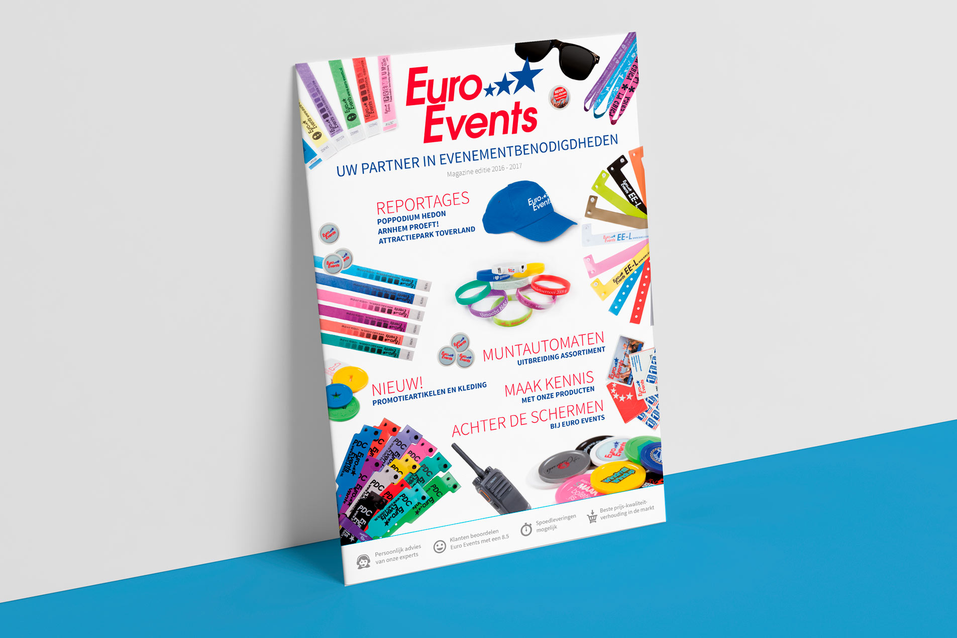 Euro Events Magazine 2016 Printontwerp