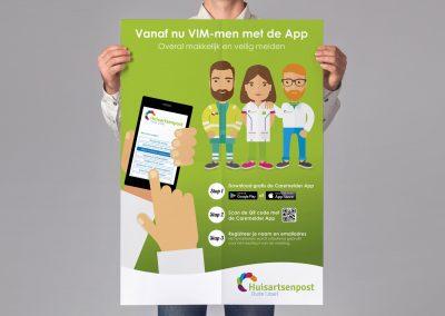 Huisartsenpost Oude IJssel Caremelder App Poster