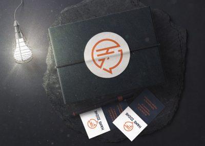 Hans Idink logo & huisstijl