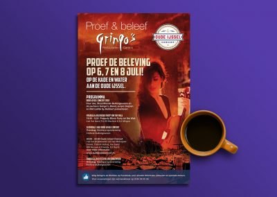 Gringo's advertentie juli 2018