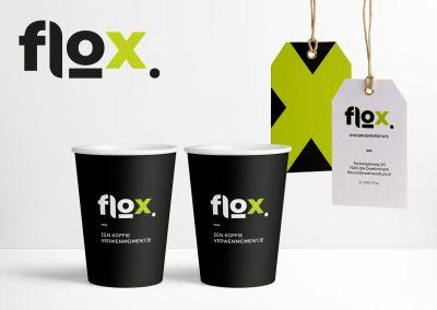 Logo en Huisstijl Flox Ondernemershuis
