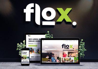 Flox ondernemershuis visuele identiteit